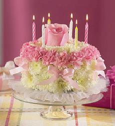 1 800 FlowersR Birthday Flower CakeR Pastel